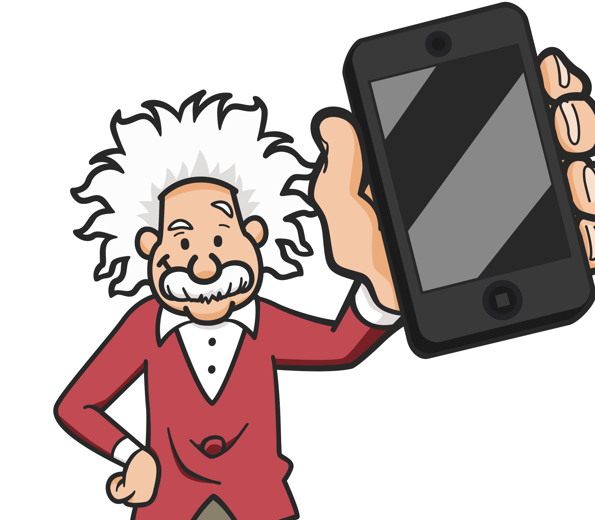 einstein_avatar_illustration_phone